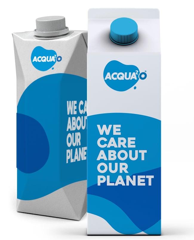 Acqua in cartone personalizzata - 50 ml